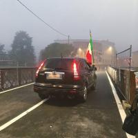 Sambo Inaugurazione Ponte Motta Attraversamento In Auto